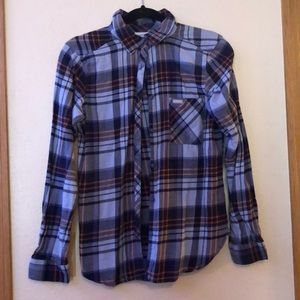 Periwinkle Columbia flannel Small